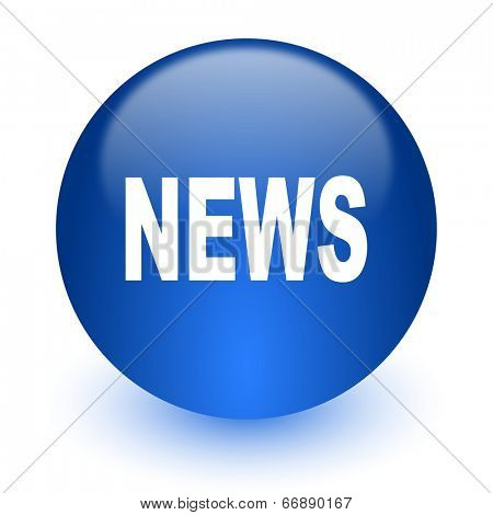 news computer icon on white background