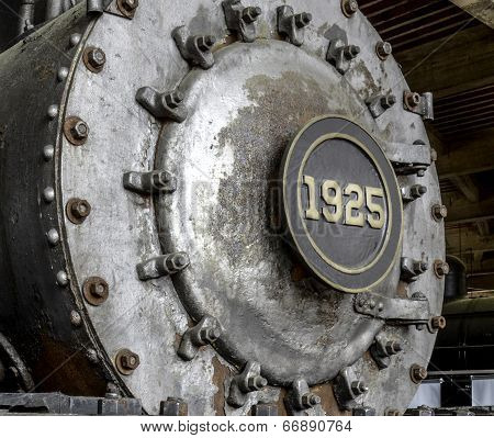 Front Boiler Of 1925 Steam Engine