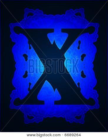 "Letter ""x""."