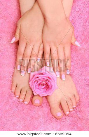care for women's feet