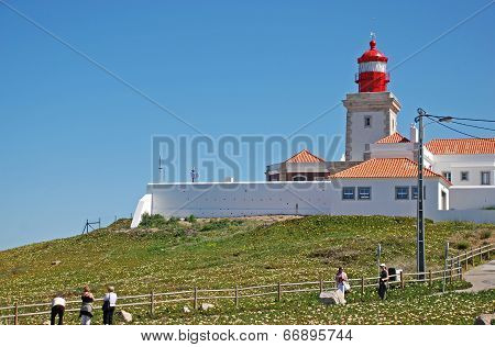 Cabo Da Roca Lighthouse, Portugal.