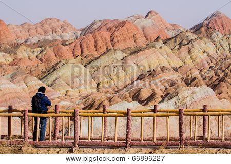 The Rainbow Mountains