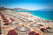 picture of albania  - Beautiful  Mango beach in Saranda - JPG