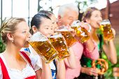 image of lederhosen  - In Beer garden  - JPG