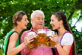 pic of lederhosen  - In Beer garden  - JPG
