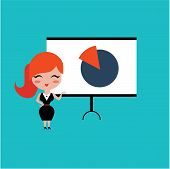image of motivation talk  - Conference icons vector illustration set flat cute design - JPG