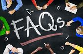foto of faq  - People Working and FAQs Concept - JPG