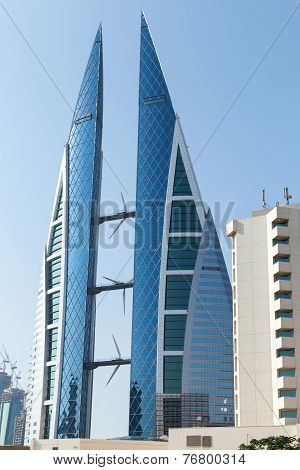 Bahrain World Trade Center, Manama City