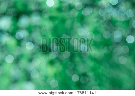 Green Sparkle Background