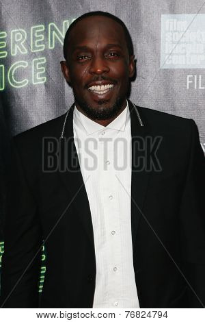NEW YORK-OCT 4: Actor Michael K. Williams attends the 'Inherent Vice' Centerpiece Gala Presentation & Premiere at the New York Film Festival at Alice Tully Hall on October 4, 2014 in New York City.
