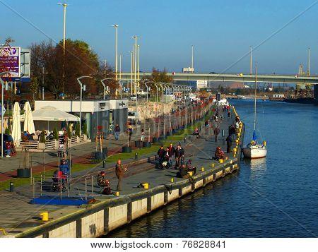 Szczecin - boulevards