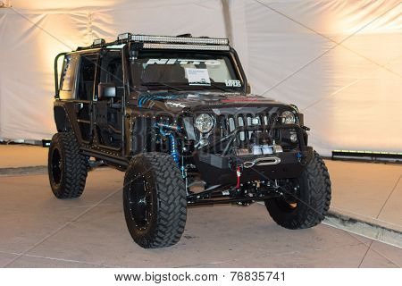 Jeep Wrangler Unlimited 2015 On Display