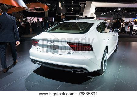 Audi A7 2015 On Display