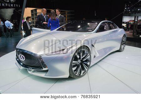 Infiniti Q80 Concept Car On Display