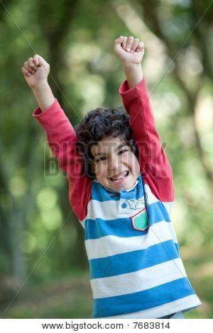 Happy Little Boy
