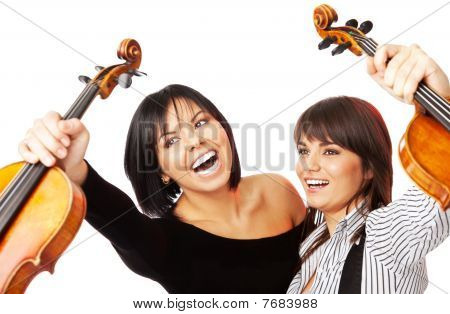 Happy Violinists Graduates