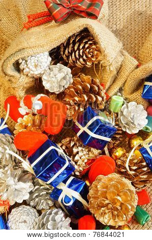 Amazing Christmas Background, Colorful Xmas Material