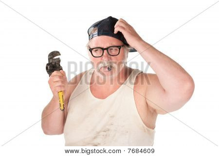 Puzzled Plumber