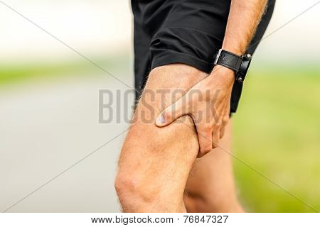 Painful Injury, Runners Physical Muscle Pain