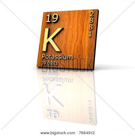 Potassium Form Periodic Table Of Elements