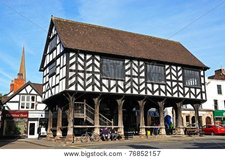 The Market House, Ledbury.