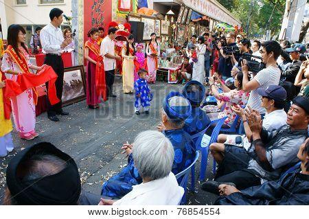 Vietnamese Calligraphy Fair, Traditional Ceremony