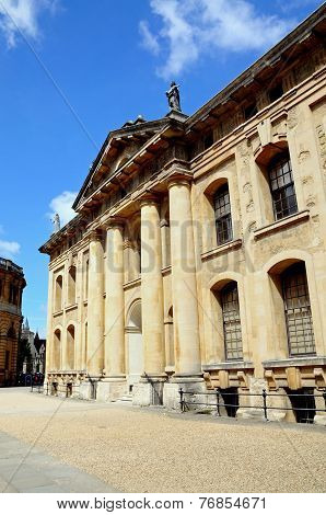 Clarendon building, Oxford.
