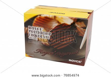 Royce' Chocolate Potatochips
