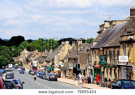 Burford High Street.