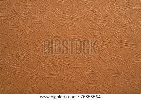Surface Of The Painted Paper Or Cardboard