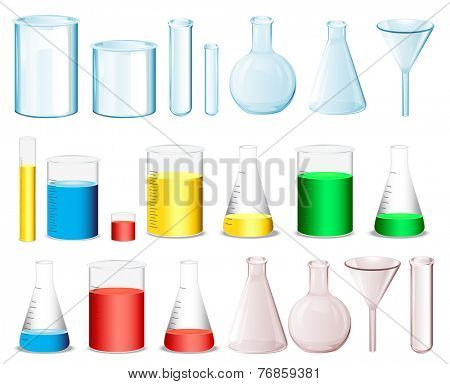 Laboratory equipment to measure chemicals