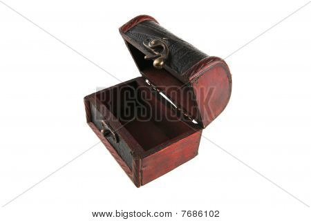 Single Wooden Chest