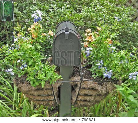Mailbox in Garden