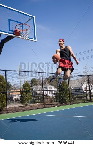 Skilled Basketball Player