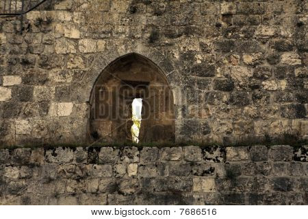 Arch in The Walls of Jerusalem