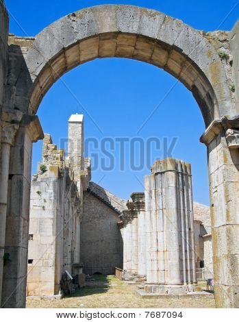 Abbey of SS. Trinity. Venosa. Basilicata.