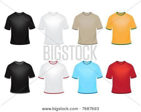 Vector t-shirts