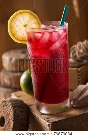 Lunenburg Blueberry Lemonade