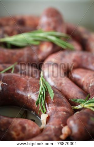 Home Hepatic Raw Sausage With Rosemary