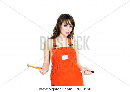 Glamor Contractor Girl