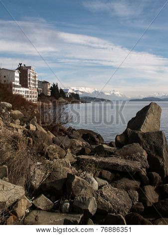 Bariloche Mountain And Lake