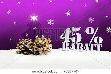 Christmas Pinecone Tree 45 Percent Rabatt Discount