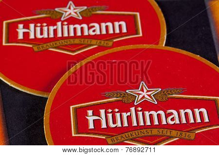 Beermats From Hürlimann Beer