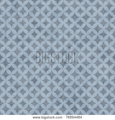 Printblue Interconnected Circles Tiles Pattern Repeat Background