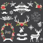 picture of card-making  - Christmas Chalkboard - JPG