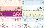 picture of baby animal  - Collection of  cute baby  banners with animals - JPG