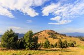 pic of pieniny  - autumn mountain landscape - JPG