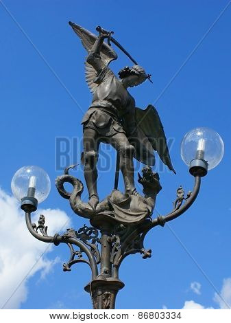 Lamppost Ghent