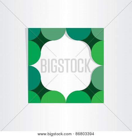 Green Textbox Geometry Frame