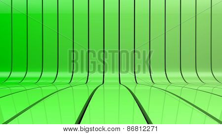 green stripes gradient background